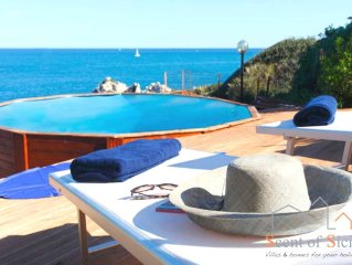 Idyllic Corner Of Paradise, With Private Access To The Sea And Swimming Pool