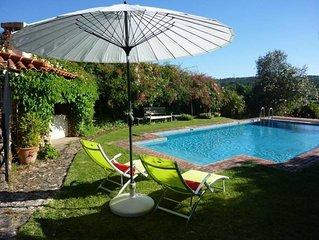 Coimbra: Villa de charme avec grand jardin et piscine privé près de Coimbra.Un m