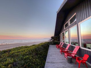 Modern Luxury Oceanfront - Private Beach Access-180° Views