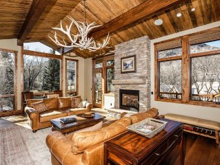 Amazing Recently-Remodeled Home on the Roaring Fork River