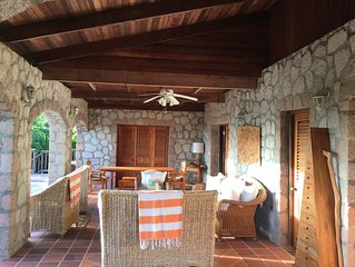 Private Honeymoon Villa with View Of Caribbean & Piton Mountains, Full Service
