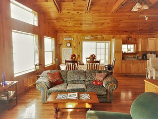 """""""CHECK OUT RATES"""" Lakefront-Pet Okay-Dock-Boat-Boat Launch, Family Fun, Fishing"""