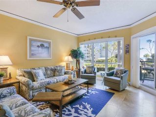 4103 Windsor Court: 1 BR / 2 BA oceanfront villas in Hilton Head Island, Sleeps