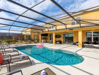 NEW OUTDOOR GRILL,Large South POOL, great service,Near DISNEY'S area +more !!!!!