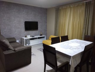 Apartamento mobiliado a 150m do Mar