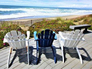 4 for 2!  HOUSE 60 - ROUND OCEANFRONT HOUSE HAS ALL THE VIEWS!