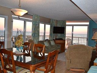 3rd Floor Oceanfront Corner, Recent Upgrades, Huge Wrap Balcony,  Great Views