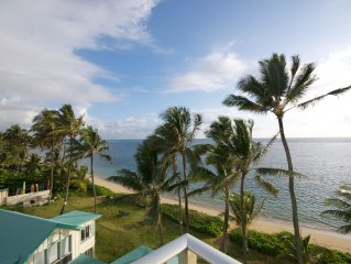 Beachfront Corner Unit With Panoramic Views!