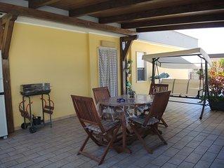Casa Parco Aranci al centro di Formia, a due passi dal porto e stazione