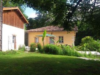 La maison du Meunier (et sa grange )