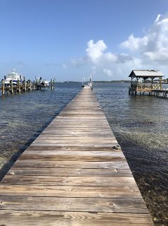 180 ft private dock