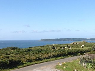Recently built holiday property for four people in prime location in South Gower