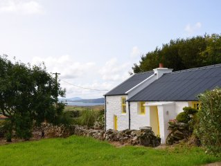 An Irish Idyll - traditional stonewall cottage nestled in hills above Downings