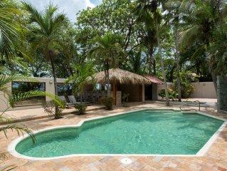 Villa Casa Serena, Playa Grande, Costa Rica -- A private beachfront property!