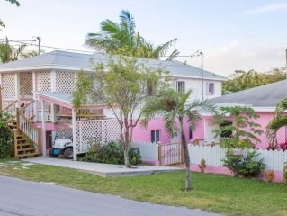 5 Minute Walk to Pink Sands Beach • Affordable, Bright, 2 Bedroom Cottage