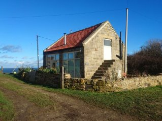 Beautiful Cottage On The Cliff Top With Stunning Sea Views