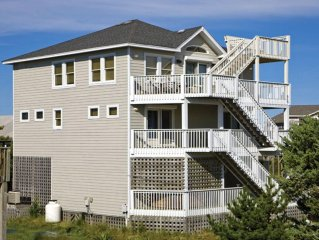 Dazzling Vacation Home, Semi-Oceanfront with Awesome Views, Great Deal