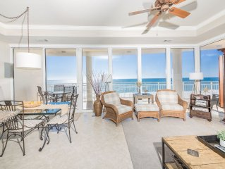 302 La Playa Gated Luxurious Low Density 3rd Floor Gulf Front Condo