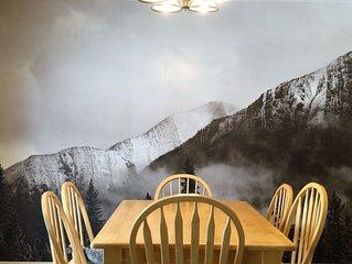 Fabulous Family Home at Base of Ski Mountains - Park, Tennis, Hike Nature