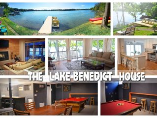 Lake Home with Tons of Amenities *Updated interior by designer
