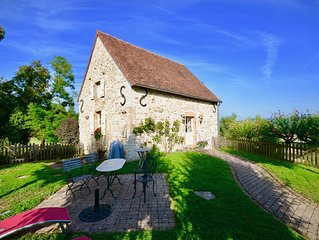 Luxury  cottage to rent, 25 minutes from Beaune