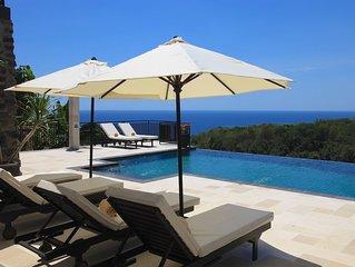 Villa Jempiring: New And Very Luxury Balinese Style Villa With Amazing Views!