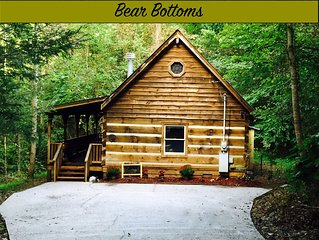 $79 per night special until 11/21 - Bear Bottoms - Secluded, Firepit & swimming