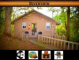 Riverview ~ 1 BR / 1 BA / Sleeps 4-We Survived the Fires!