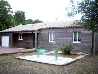 location saisonnière maison ossature bois