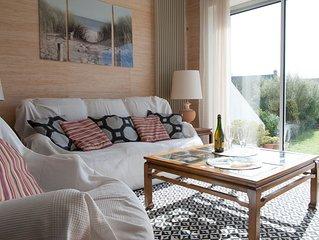 Maison*** avec terrasse proche de la mer, 2 chambres, toute equipee
