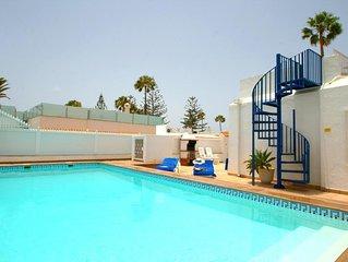 Villa Bahamas has Private Solar Heated Pool
