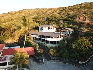 AlohaPalace com 3-Story Ocean View  w/Elevator,  Cottage & Pool/ 30 Day Min.Stay