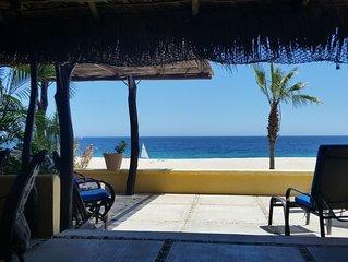 Delightful Beachfront home right in Los Barriles