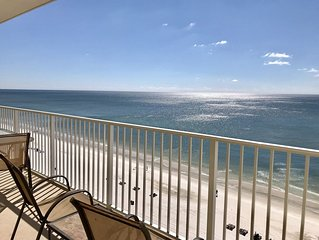 Crystal Shores 1003 2 bedroom 2 bath gulf-front condominium Gulf Shores