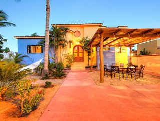 Best Beachfront Location - Downtown Los Barriles, Baja