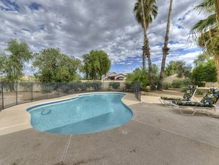 HEATED POOL!  NEAR DESERT RIDGE, KIERLAND, SCOTTSDALE QUARTERS, WESTWORLD!