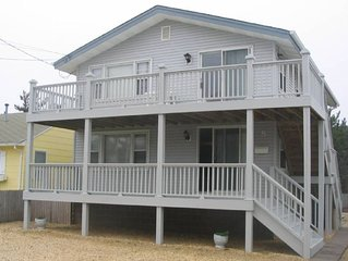6 homes from the beach! Newly remodeled bathrooms 2019! sleeps six!