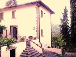 Appartamento Antico Camino in villa a 18km. da Firenze nel Chianti Valdarno