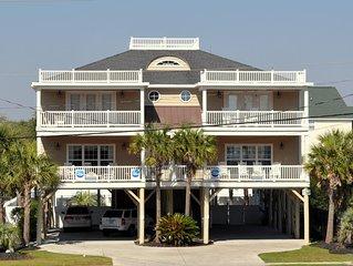 SEA BUBBLE- A luxurious 5 BR/5.5BA Ocean View Home. Private Pool & Spa Hot Tub