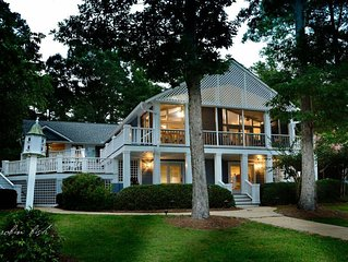 Reynolds Luxury Lake & Golf Escape With Game Room and Kayaks on Lake Oconee