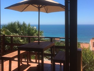 Funtana Meiga Strandhaus  300 Meter vom Meer mit Balkon und Meerblick