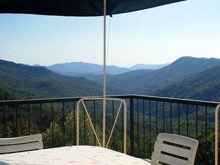 50% off !!splendida casa vista Panoramica su valle, Cinque terre, mare e natura