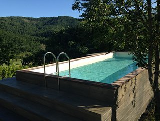 Your luxury holiday retreat near a golf course and horse riding school.