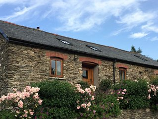 Stunning romantic rural retreat with all year Hot Tub close to Exmoor and Coast