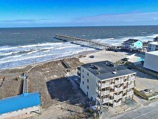 Ocean view, 3 minute walk to beach, pool & ICW views