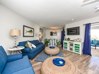 GORGEOUS REMODEL - SLEEPS 12 in Beds, Private Pool, 1/2 Block to Beach and Step