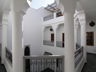 Private luxury Riad with plunge pool in the Medina, Free WiFi