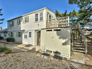 One House From the Beach - Hear the Ocean - Beach Haven Gardens Duplex