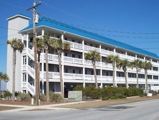 Oceanview condo located within walking distance to the beach!