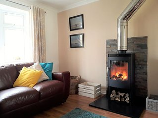 Pet and family friendly house in Crantock, near the beach and village centre